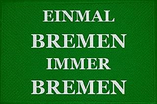 U24 Aufnäher Einmal Bremen Immer Bremen Aufbügler Patch 9