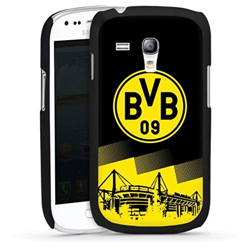 DeinDesign Hard Case kompatibel mit Samsung Galaxy S3 Mini Schutzhülle schwarz Smartphone Backcover BVB Borussia Dortmund Stadion