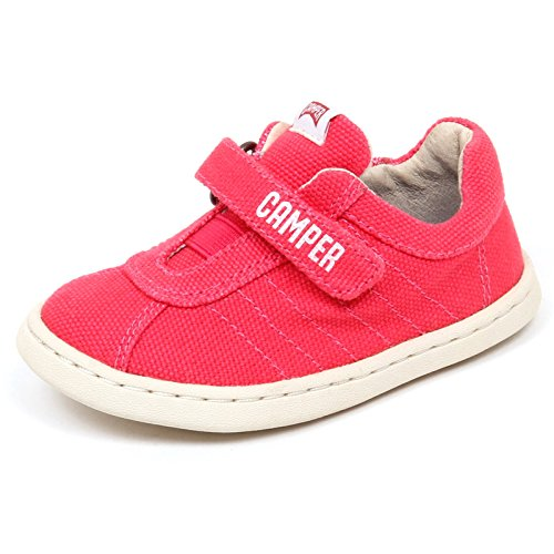 E5524 (Without Box) Sneaker Bimba Canvas CAMPER Pink primi passi Shoe Baby Girl [21]