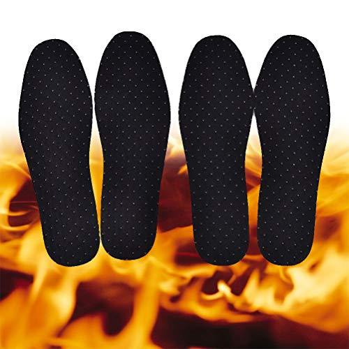 TLEOXS 1 Paar Heizung Magnetische Einlegesohle Fernen Infrarot Warme Schuh Pad Strahlen Selbsterhitzung Beheizte Einlegesohlen45 (27,9 cm)