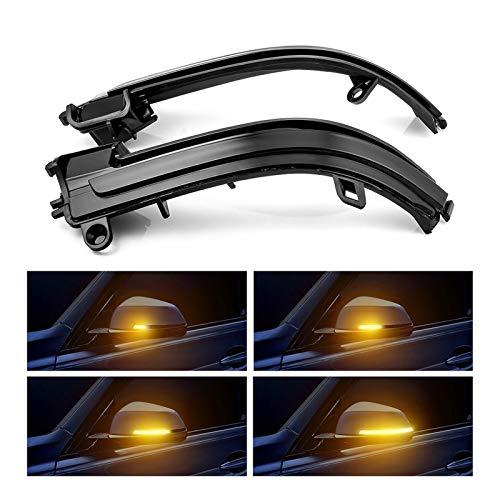 SeñAlizacióN De Flujo Lateral Luz Indicadora De Gi Indicador de espejo retrovisor del ala lateral Indicador de la señal de giro dinámica del repetidor Dinámico para BMW F20 F21 F22 F30 E84 1 2 3 4 Ser