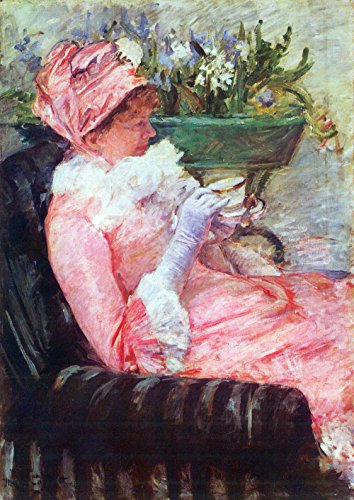 The Museum Outlet - De kop thee van Cassatt - A3 Poster