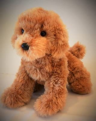 Caramel Labradoodle - Stuffed Animal Therapy for People with Memory Loss from Aging and Caregivers