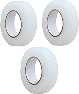 【Za-Bi (ザ-ビ) 】リフトアップテープ 細身3個セット 透明 / よく使うサイズ 1.2cm細身の3個セット・細幅 / 小顔 コスプレ /手で簡単に切れます / 細身3個