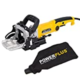 POWERPLUS POWX1310 - Fresadora de engalletar madera 900w 100mm