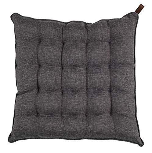 Qfeng - Cuscino per sedia da ufficio con cuscino in cotone e lino