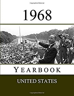 1968 US Yearbook: Original book full of facts and figures from 1968 - Unique birthday gift / present idea. (US Yearbooks)