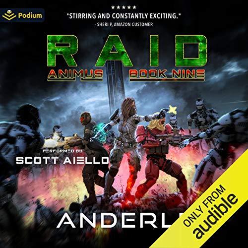 Raid Audiobook By Joshua Anderle, Michael Anderle cover art