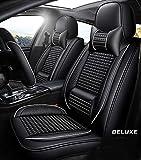 Cubierta de asiento de coche - conjunto completo, amortiguador de asiento de cuero resistente al agua de la PU para Audi A3 / A4 / A5 / A6 / A8 / P3 / P5 / RS4,B
