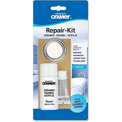 Genuine Cramer Kit de reparación para baño y cocina Color blanco
