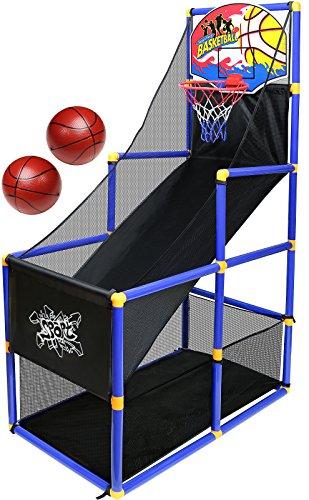 Kiddie Play Toy Basketball Hoop Arcade Game indoor Sports Toys for Kids