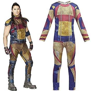goaldeal Descendants 3 Jay 3D Costume Kids Jumpsuits Halloween Cosplay Outfit Fancy Dress  5-6 Years