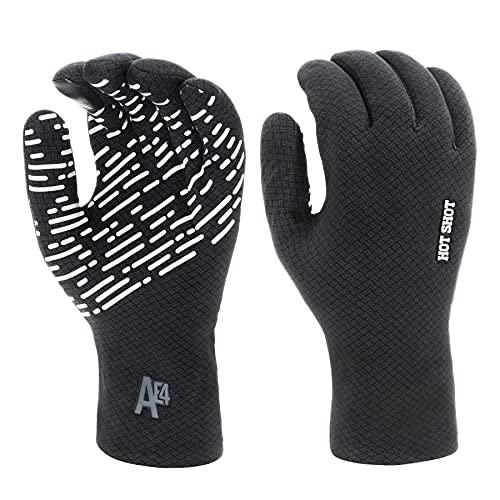 Hot Shot Men's Waterproof Fishing Gloves – Outdoor Breathable Gear...