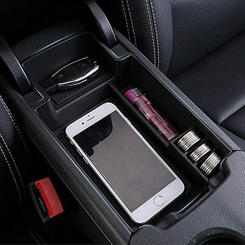 Caja de almacenaje For Mercedes Benz Clase CLA GLA W176 C117 X156 Apoyabrazos Caja de almacenamiento de coches Organizador Accesorios 2013 2014 2018 200 220 180 A45
