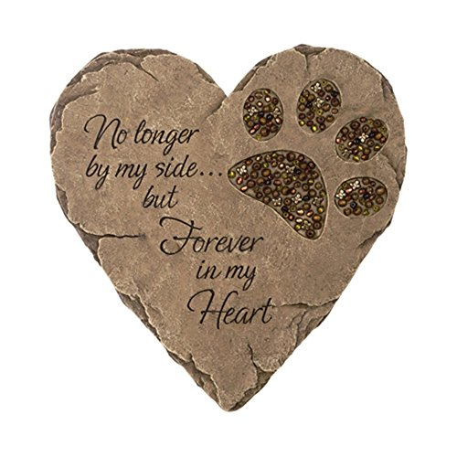 Carson - BEADWORK GARDEN STEPPING STONE - PET FOOTPRINT
