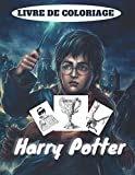 livre de coloriage harry potter: Cadeau plus de 30 pages pour votre enfants