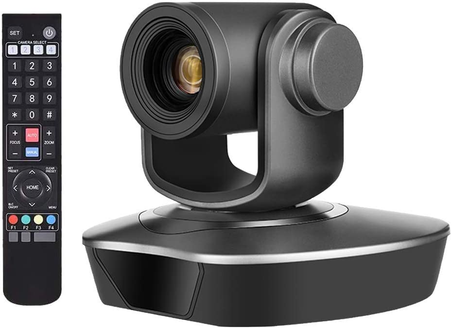 PTZ Conference Room Camera – 10X Optical Zoom Full HD 1080P USB Video Conference Camera for Business Meetings (10X Zoom NV-V110U2)