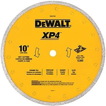 Dewalt Dw4766 7 Inch By 060 Inch Porclean Tile Blade Wet Circular Saw Blades Amazon Com