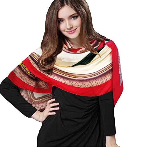 iEverest Pañuelos de Seda Mujer Pañuelos de Protección Solar Estola Chal Seda...