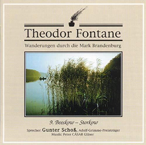 Wanderungen durch die Mark Brandenburg, Audio-CDs, Tl.9, Beeskow, Storkow, 1 Audio-CD