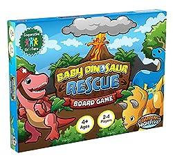 3. Baby Dinosaur Rescue Board Game