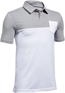 Under Armour Boy Charged Cotton Blocked Polo (Big Kids)