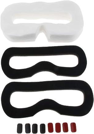 Colorful Gesicht Ersatz Auge Maske Schaumstoffmatte mit PU Leder Cover f/ür Oculus Rift CV1 VR,210X105X10mm