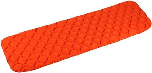 XUHommesG Tapis De Couchage pour Camping en Plein Air, Coussin Gonflable ImperméAble Ultra LéGer Portatif, Composite TPU en Nylon 20D, 190cm  60cm