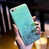 Surakey Carcasa para iPhone 6 Plus/6S Plus, diseño de estrella brillante