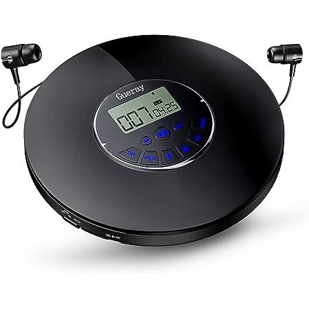 CD Player Enfant CD Player Bluetooth CD Player Hi-FI CD Player Portable Mural Home Audio Boombox Radio FM Int/égr/ée Connexion Casque MP3 Entr/ée AUX avec T/él/écommande CD Player