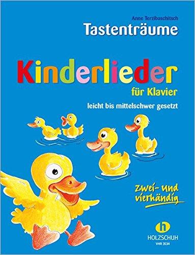 Kinderlieder für Klavier: leicht bis mittelschwer gesetzt, zwei- und vierhändig: 75 Kinderlieder zwei- und vierhändig, leicht bis mittelschwer gesetzt
