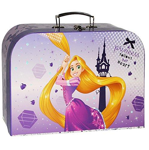 alles-meine.de GmbH Kinderkoffer -  Disney Rapunzel - neu verföhnt  - Groß - Puppenkoffer Koffer - Reisekoffer aus Pappe mit Metall Griff - für Kinder Mädchen Prinzessin / SCHL..