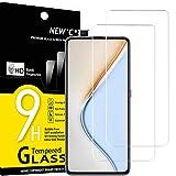 NEW'C Lot de 2, Verre Trempé Compatible avec Xiaomi Redmi K30 Pro, Xiaomi Poco F2 Pro, Film Protection écran Ultra Résistant (0,33mm HD Ultra Transparent) Dureté 9H Glass