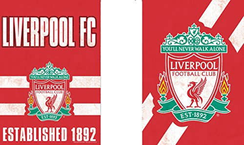 WinCraft Liverpool Football Club Garden Flag, Vintage Distressed Edition, 12.5x18 inches, 2 Sided