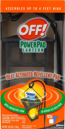 Off! Powerpad Mosquito Lantern 1-Count (Pack of 4)