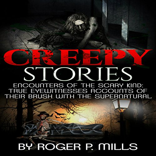 Creepy Stories audiobook cover art