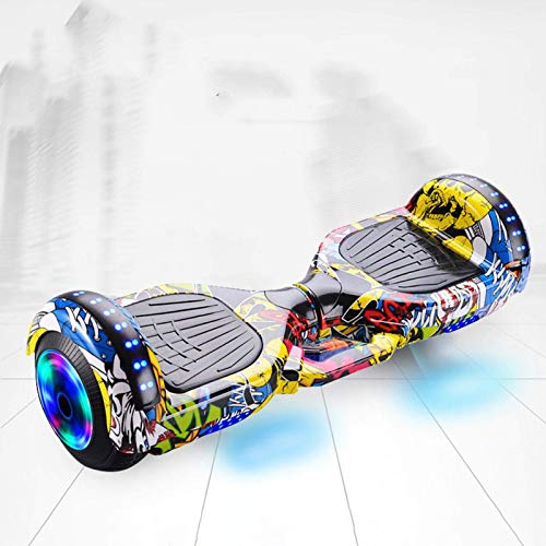 BBGSFDC Smart Balance Wheel Hoverboard Skateboard Monopatín Eléctrico Unicycle Drift Self-Equilibrio Scooter Hoverboard C (Color : A)