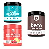 KEPPI Electrolytes, Multi Collagen, and Choc Exogenous Ketones Bundle