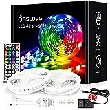 32.8ft Led Strip Lights, OSSLOVE RGB Color Changing LED Lights for Bedroom, Home...
