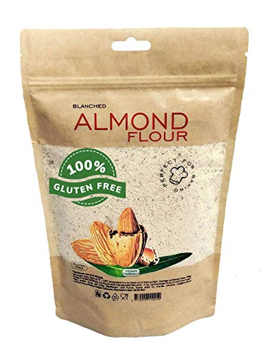 Mandelmehl 1 kg, glutenfrei 100% natürliches Mandelmehl