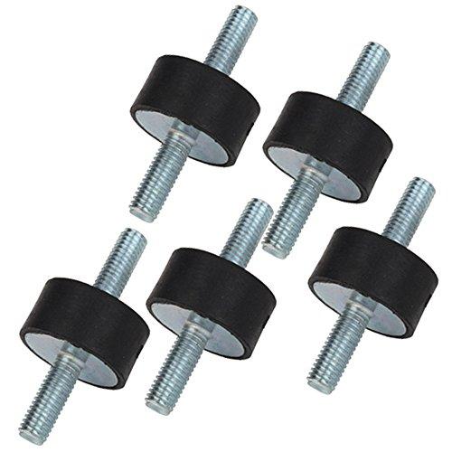 cnbtr M8Doppel Enden Schraube Silentblock für Air Kompressor 30x 15mm 5Stück