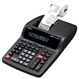 Casio DR210TM 2-Color Professional Printing Calculator with 12-Digit Large Display