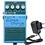 Boss CH de 1 Super Chorus estéreo + Keepdrum Fuente 9 V