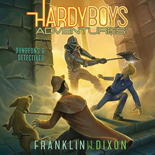 Dungeons & Detectives audiobook cover art