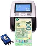 Rilevatore di banconote false Testato dalla BCE EURO GBP PLN CHF SEK 100% delle banconote ...