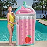 Kariwell Color Fruit Swimming Float for Adult Teens - Swimming Float Large Water Inflatable Bed Beach Vacation Best Summer Gift for Kids Friends and Lovers (Pink)