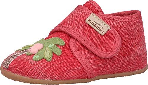 Living Kitzbühel Babyklett Flamingo mit Palme Recycled Cotton, Mule para Bebés, 19 EU