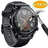 CAVN Compatible con Huawei Watch GT Protector de Pantalla, [4 Packs] Impermeable Vidrio Te...