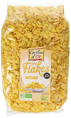 Grillon d'or Corn Flakes Nature BIO - 500 g