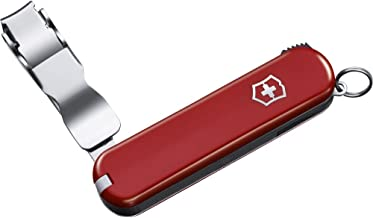 Victorinox Nail Clipper 582 Swiss Army Pocket Nail Clip - Red